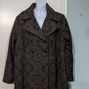 Merona  short trench coat 20w/22w